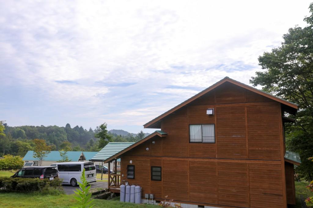 うるぎ星の森オートキャンプ場 大型キャビンサイト