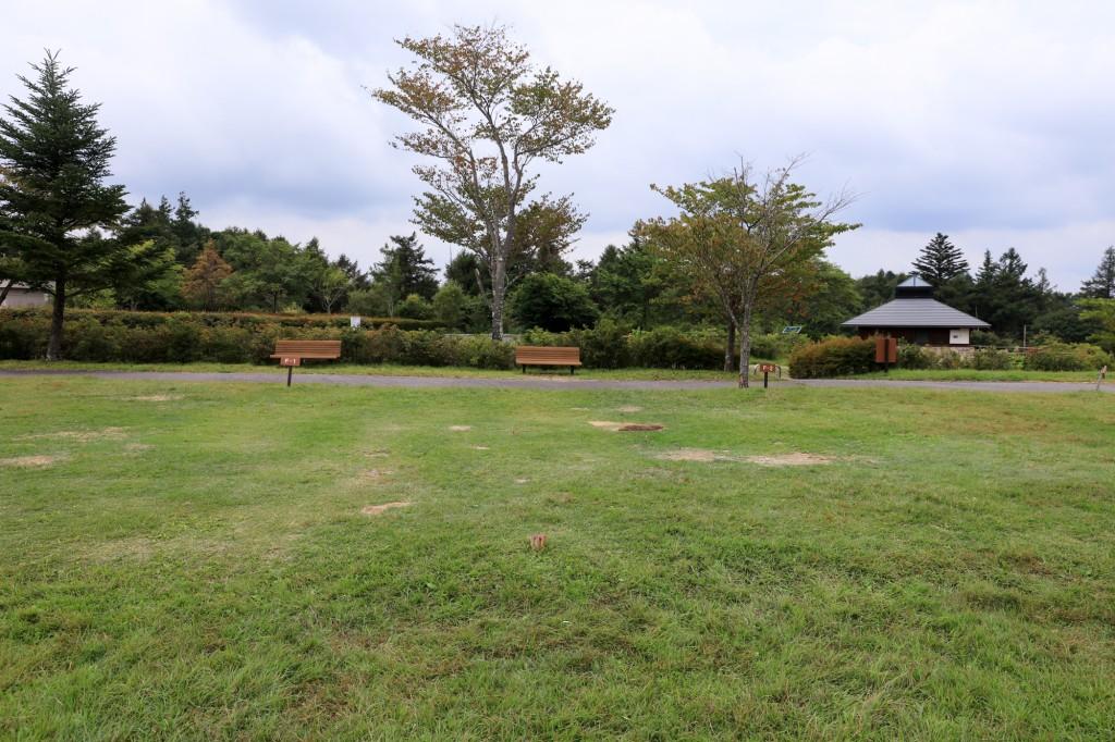 うるぎ星の森オートキャンプ場 広場サイト
