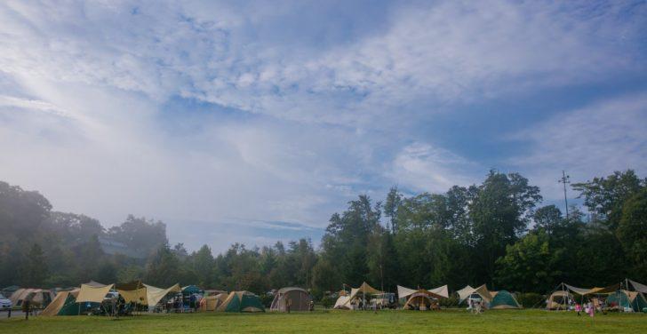 うるぎ星の森オートキャンプ場 広場サイト2