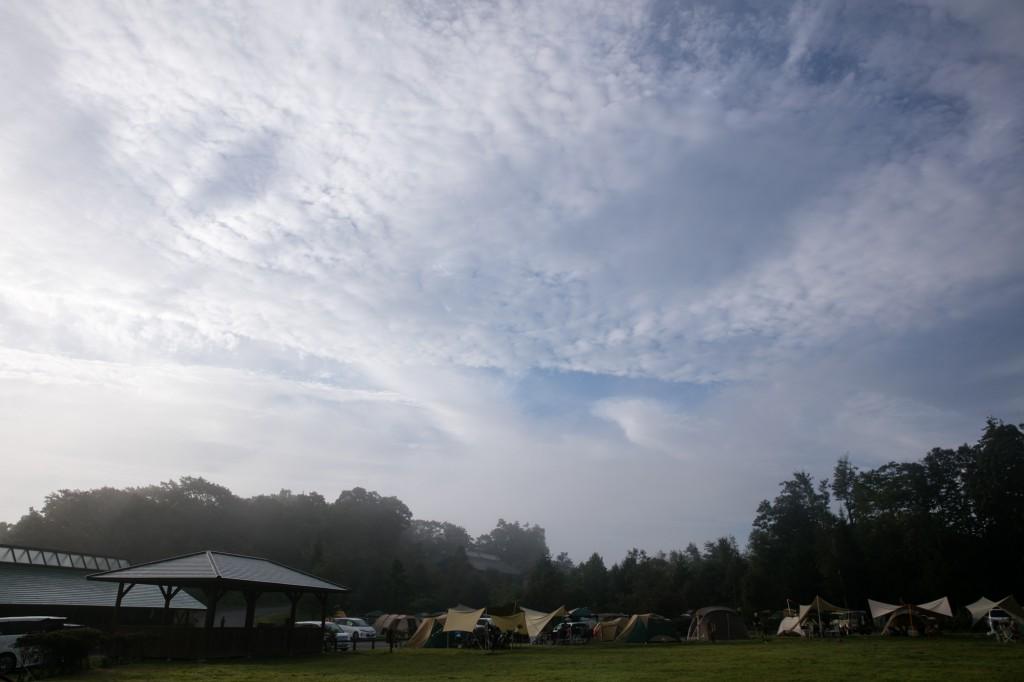 うるぎ星の森オートキャンプ場 広場サイト3