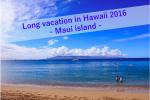 2016年ハワイ旅行後半まとめ マウイ島編