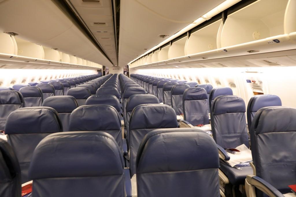 デルタ航空 機内