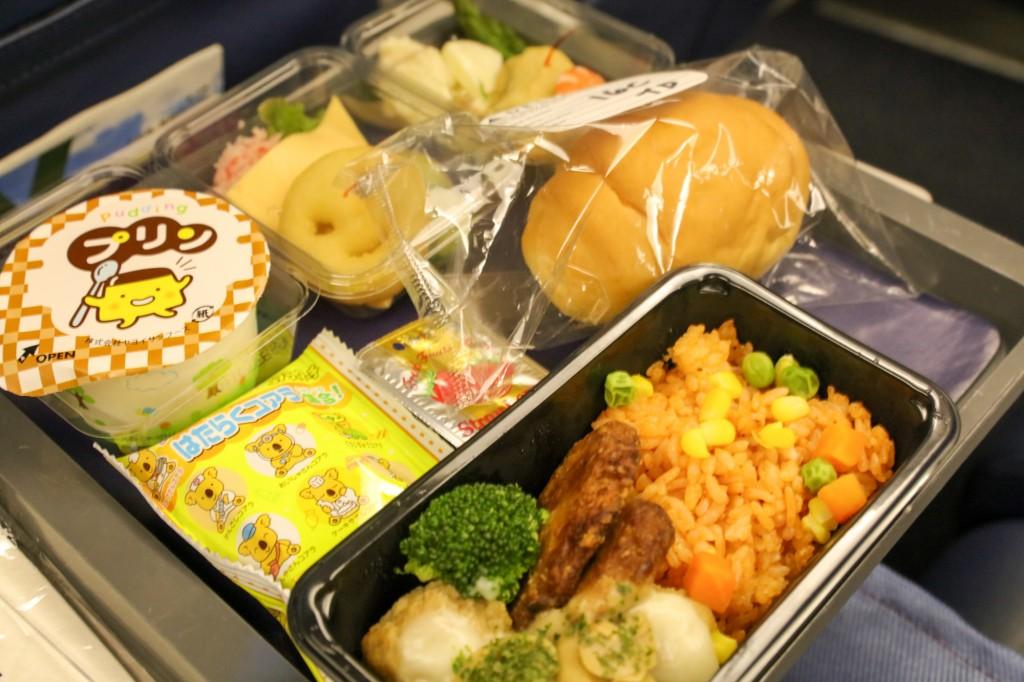 デルタ 612便 機内食 キッズミール