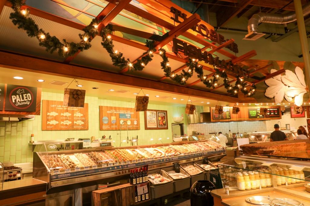 ホールフーズマーケット 魚コーナー