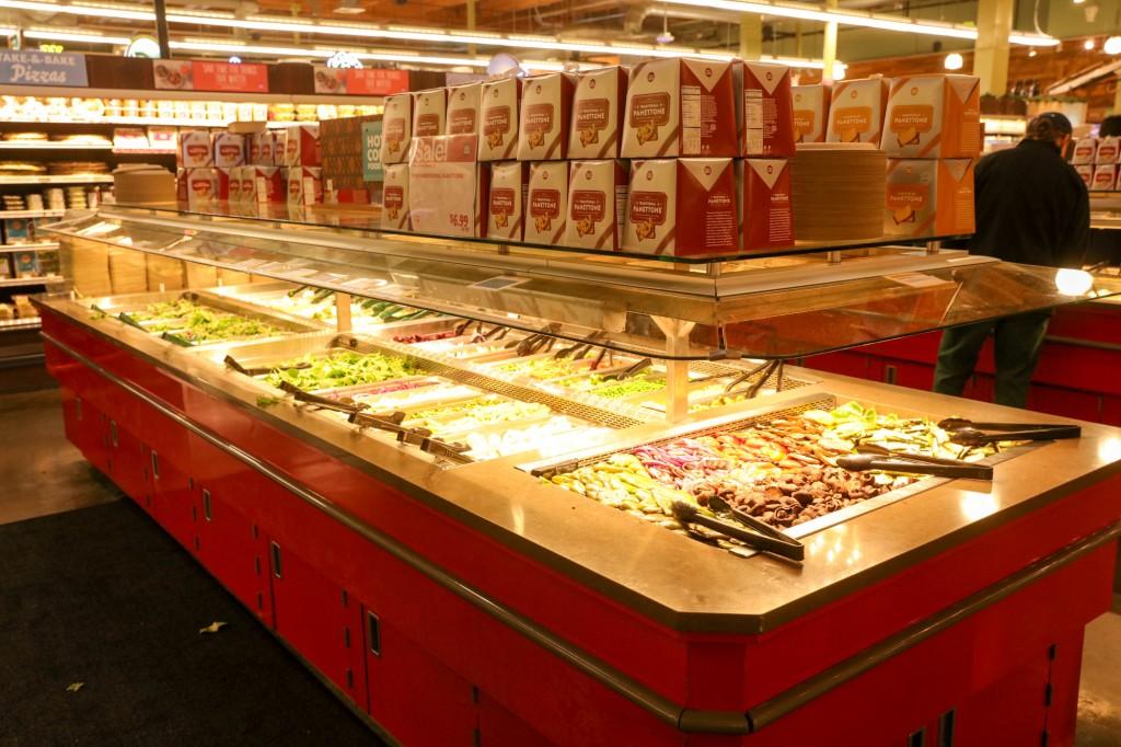 ホールフーズマーケット サラダバー