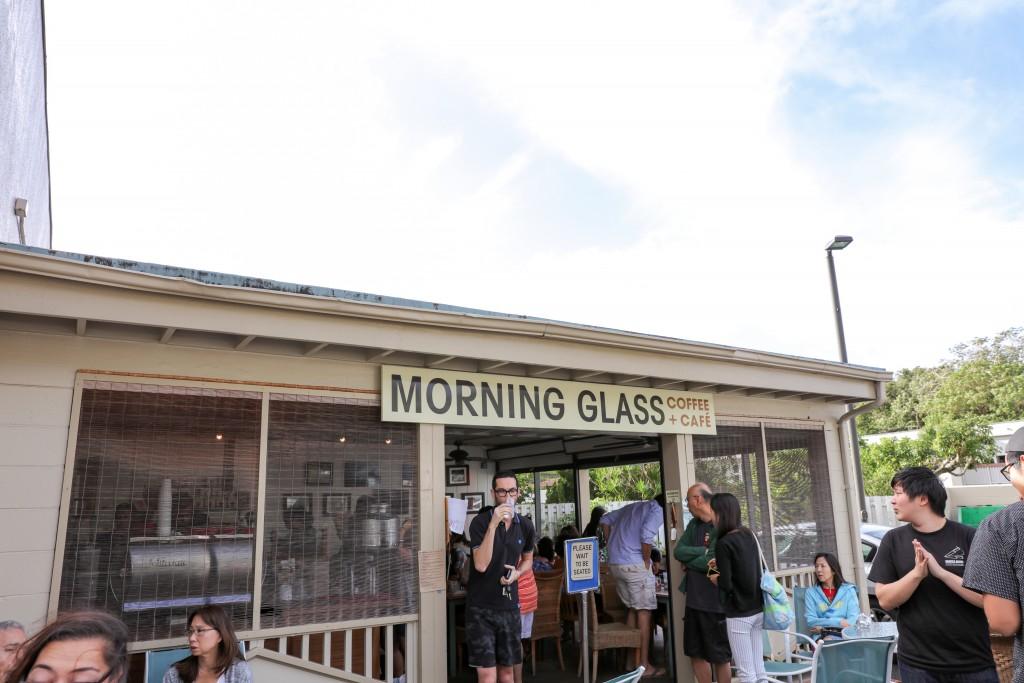 モーニンググラスコーヒープラスカフェ 外観
