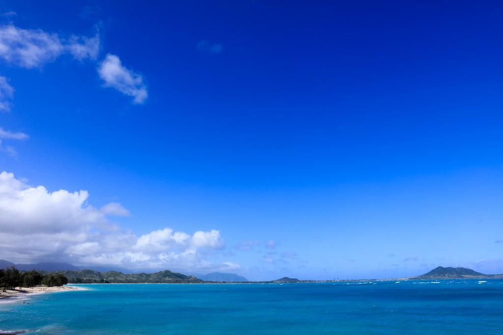 カイルア ビーチ 〜 ラニカイビーチ