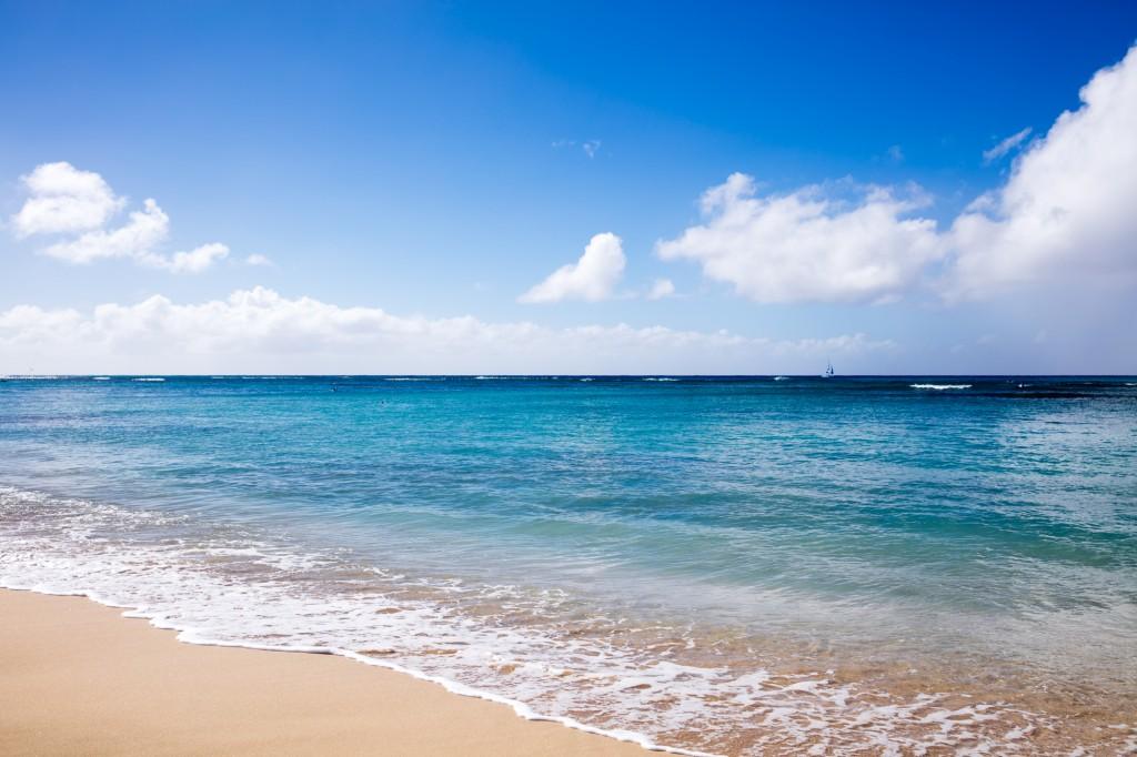 ワイキキビーチ クイーンズビーチ2