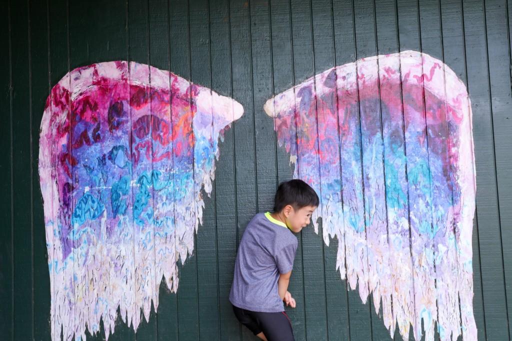 天使の羽 長男