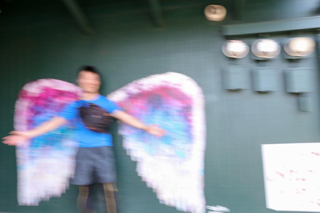 天使の羽 y-hey