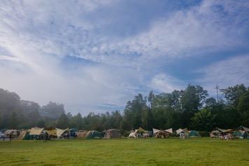 キャンプで自然を楽しむ!