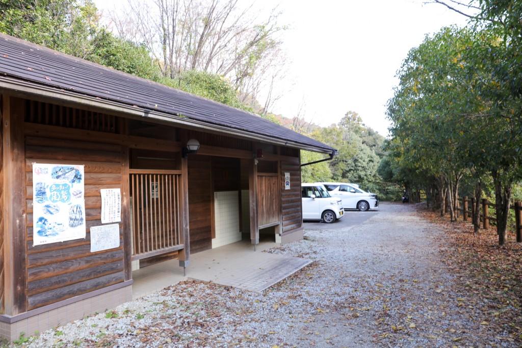 熊野古道 馬越公園 駐車場