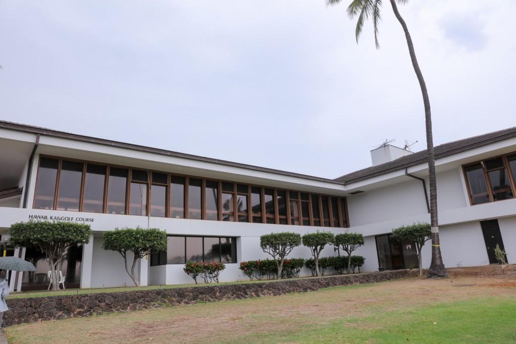 ハワイ・カイ・ゴルフコース レストラン 外観