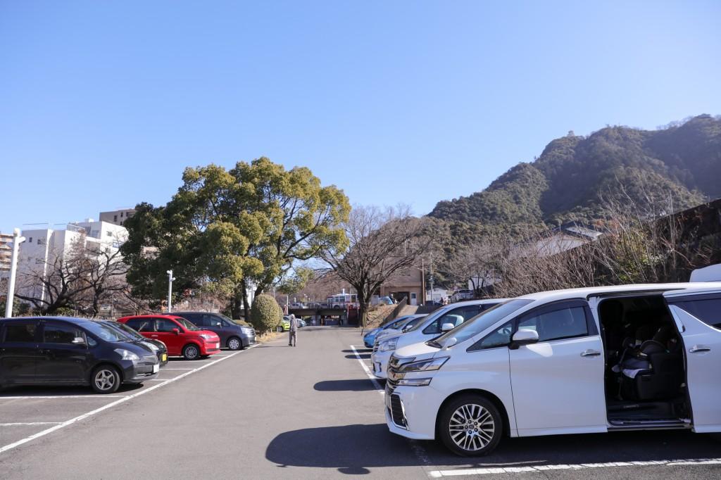 岐阜公園 第一駐車場
