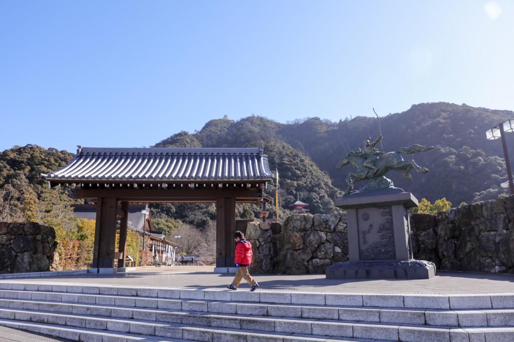 岐阜公園 入口門