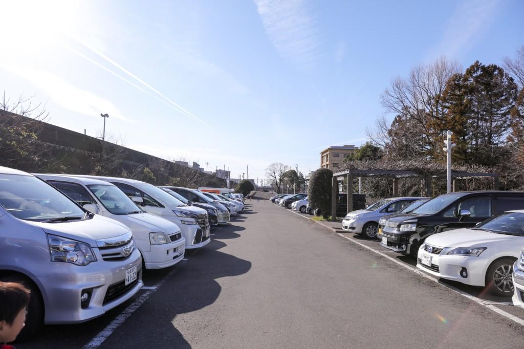 岐阜公園 第一駐車場(帰り)