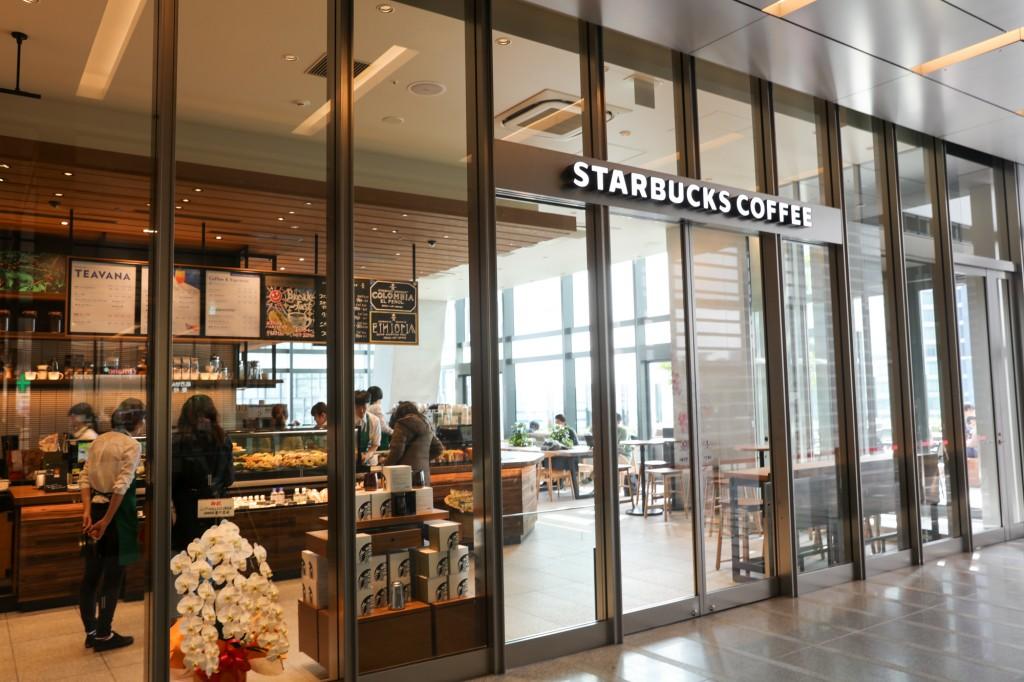 JRゲートタワー 15階スターバックス入口