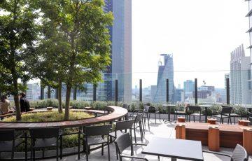 JRゲートタワー 15階スターバックス テラス席
