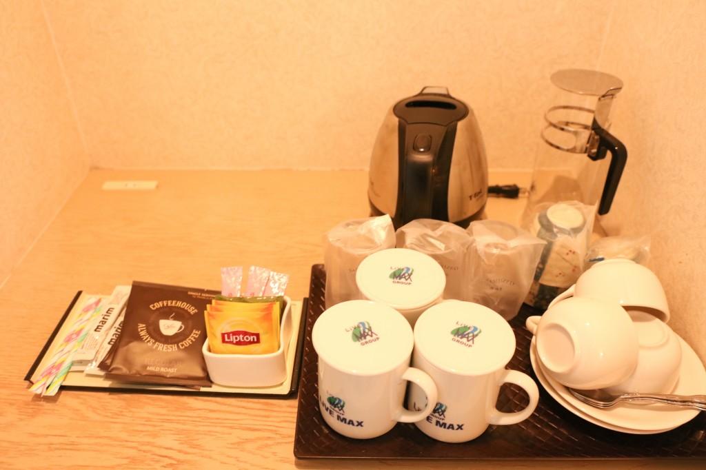リブマックスリゾート瀬戸内シーフロント コーヒー