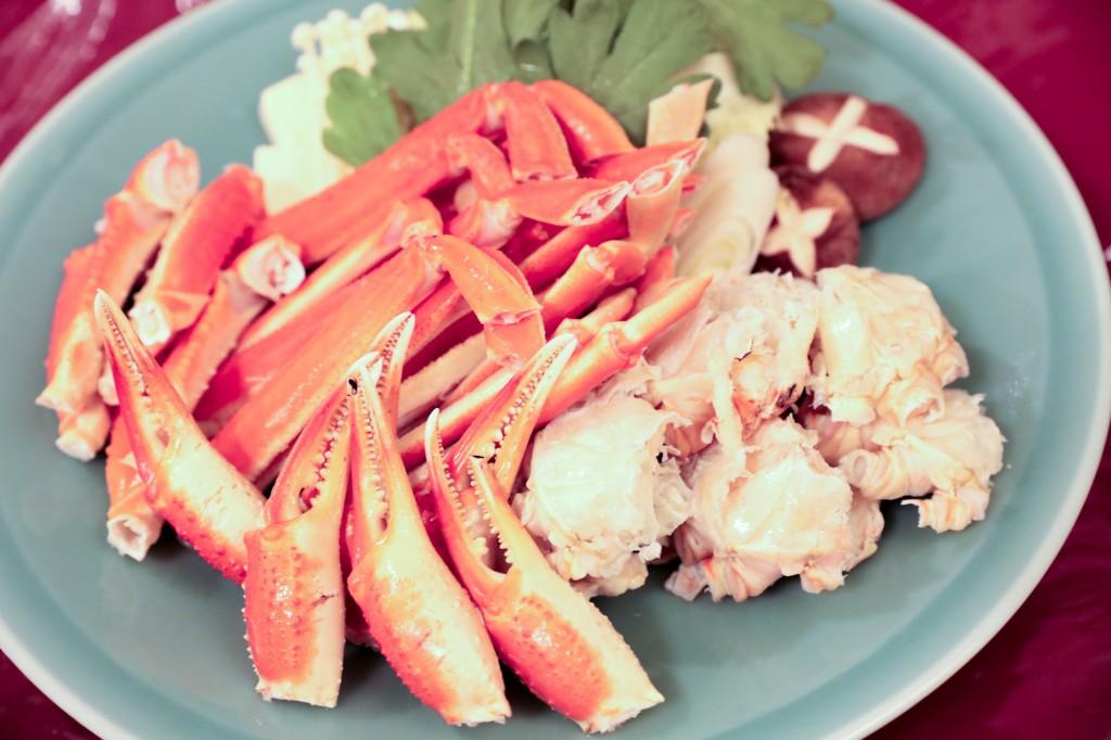 リブマックスリゾート瀬戸内シーフロント カニすき鍋1