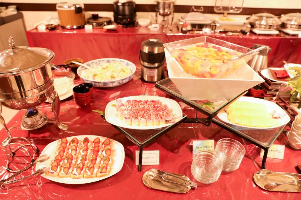 リブマックスリゾート瀬戸内シーフロント 夕食ビュッフェ2