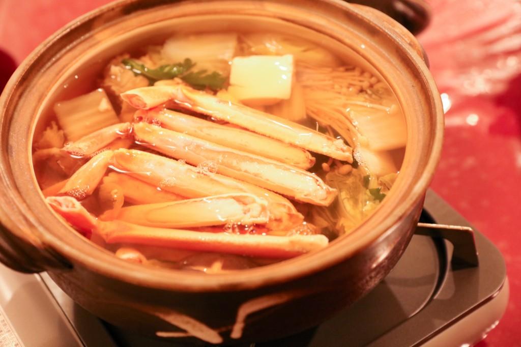 リブマックスリゾート瀬戸内シーフロント カニすき鍋2