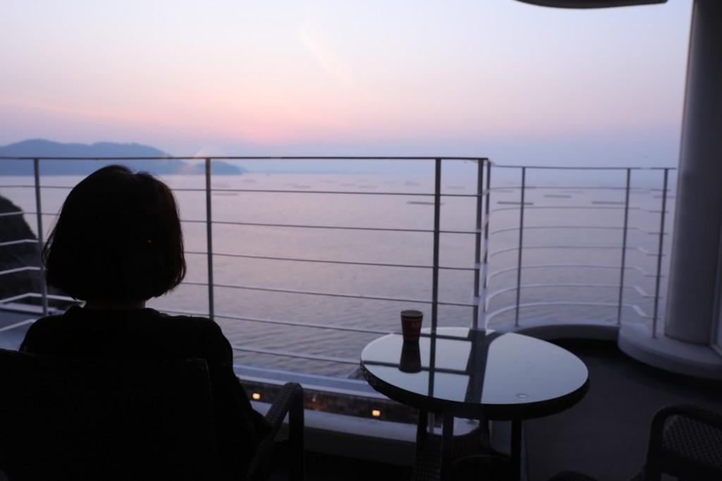 リブマックスリゾート瀬戸内シーフロント バルコニーからの眺め2