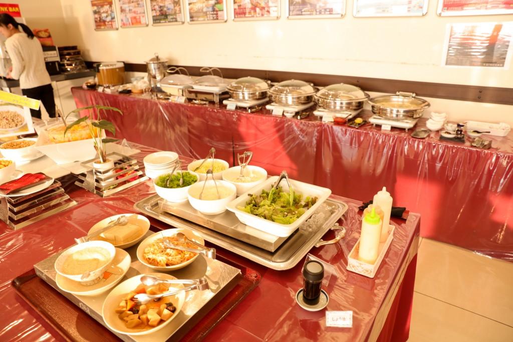 リブマックスリゾート瀬戸内シーフロント 朝食ビュッフェ2