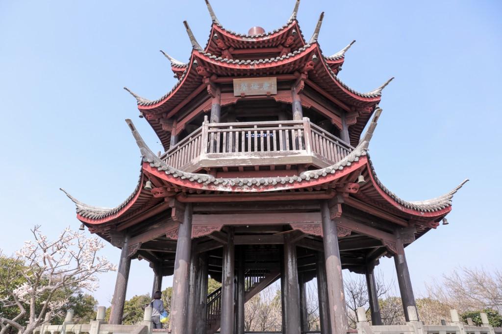 世界の梅公園 唐梅閣