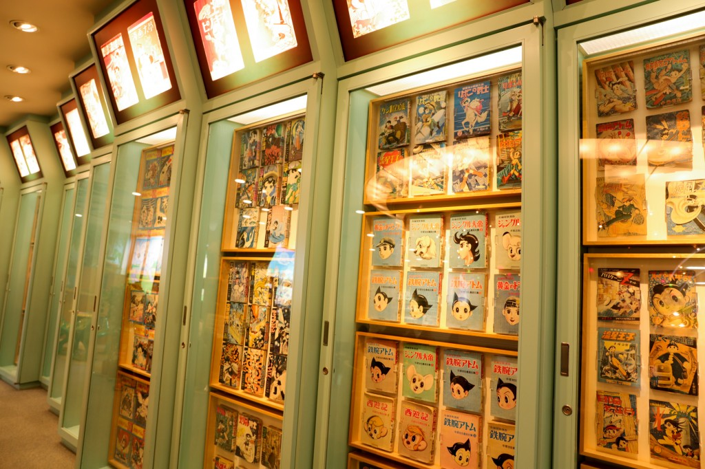 手塚治虫記念館 鉄腕アトムの原本