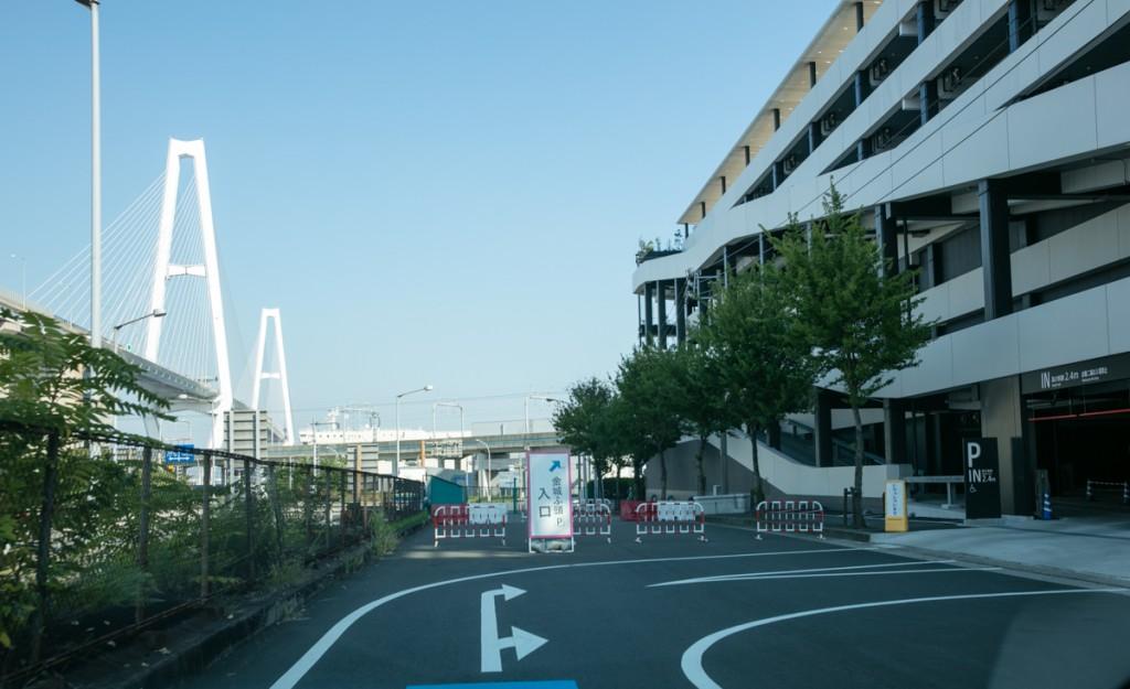 レゴランド・メイカーズピア駐車場へのアクセス 高速道路から5