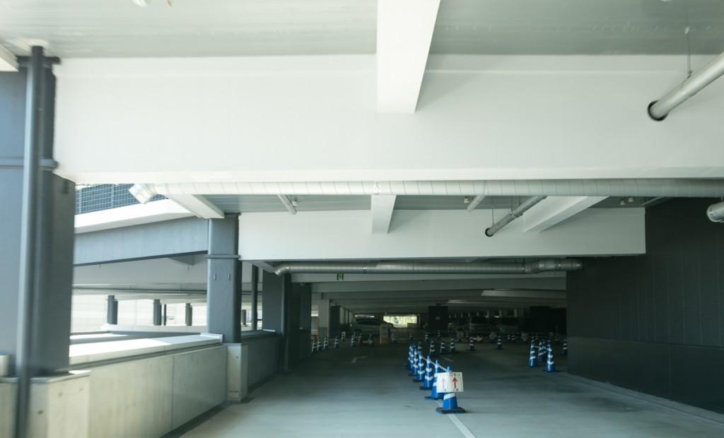 レゴランド・メイカーズピア駐車場へのアクセス 高速道路から6