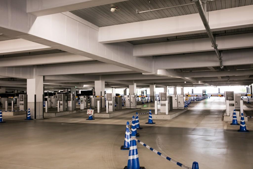 レゴランド・メイカーズピア駐車場へのアクセス 高速道路から7