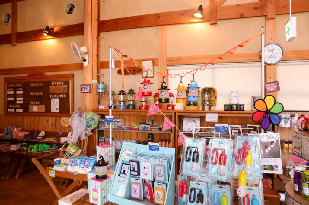 青川峡キャンピングパーク センターハウス 売店