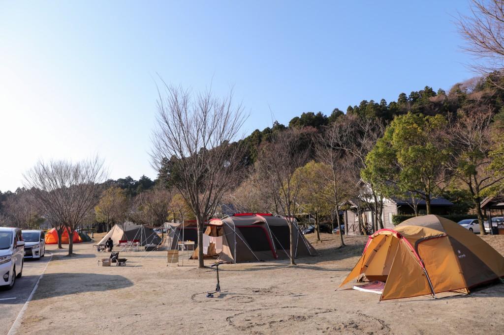 青川峡キャンピングパーク フリーサイト