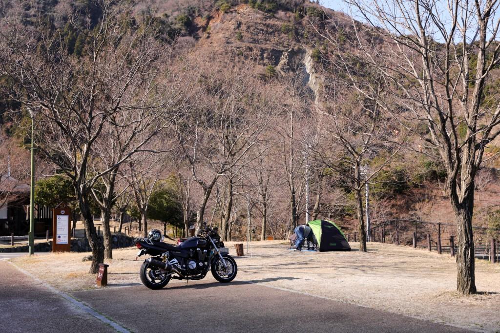 青川峡キャンピングパーク ライダースサイト