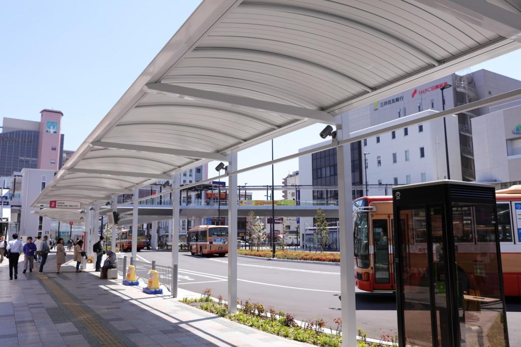 明石駅バスターミナル