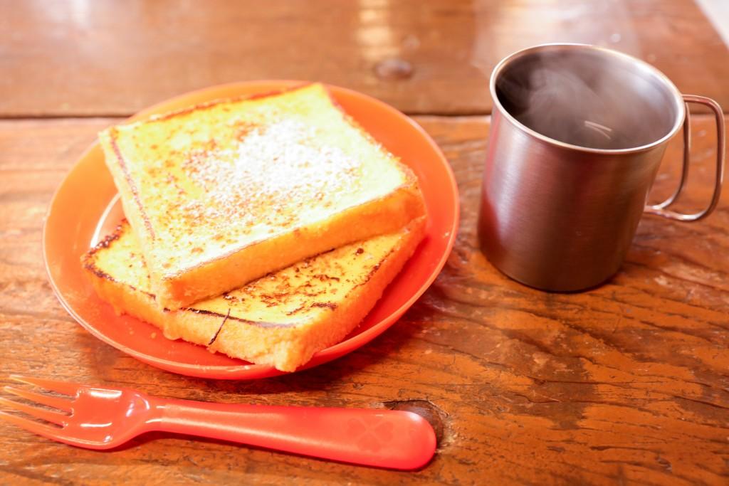 伊勢志摩エバーグレイズ 無料モーニング トースト&コーヒー