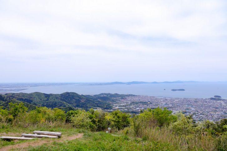 五井山山頂からの眺め