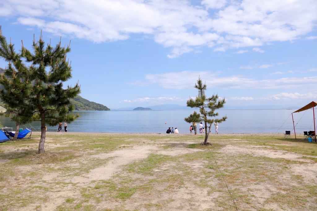高木浜オートキャンプ場 琵琶湖ファミリーサイト