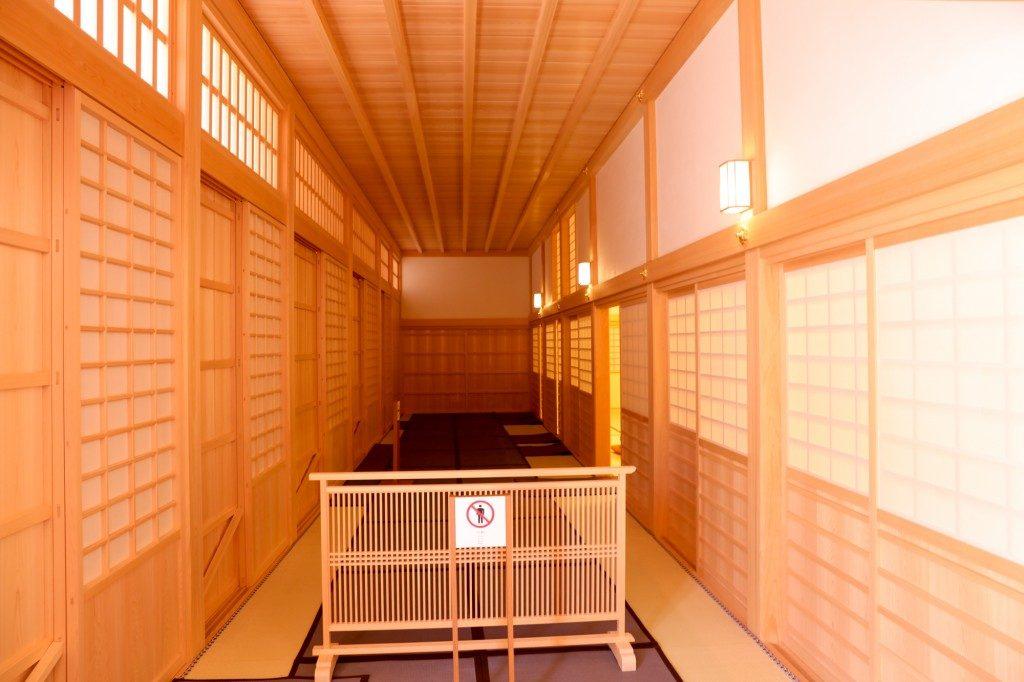 名古屋城 本丸御殿 孔雀の間入口