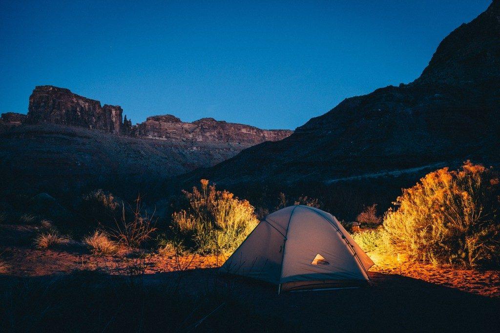 高地 キャンプ