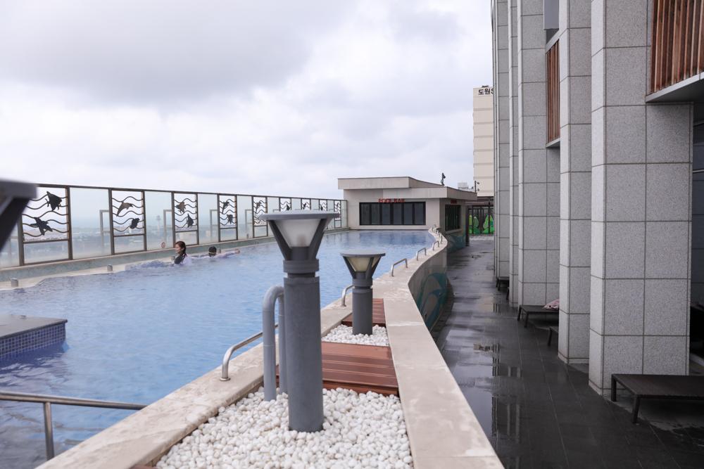 済州島 ロッテシティホテル スパ