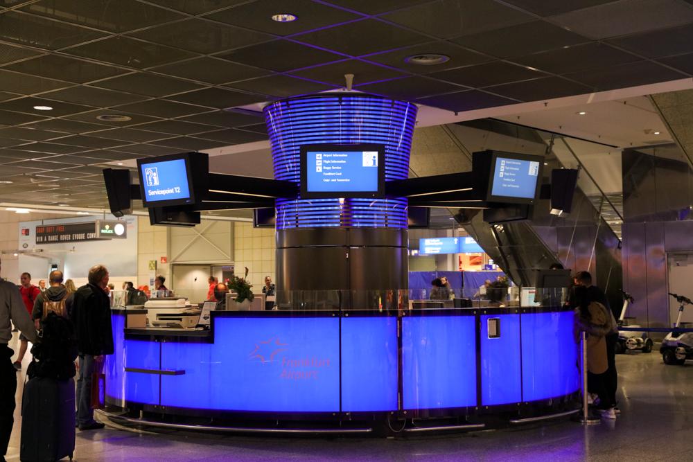 フランクフルト国際空港 ターミナル1 案内所
