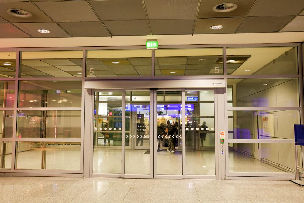 フランクフルト国際空港 ターミナル1 出口