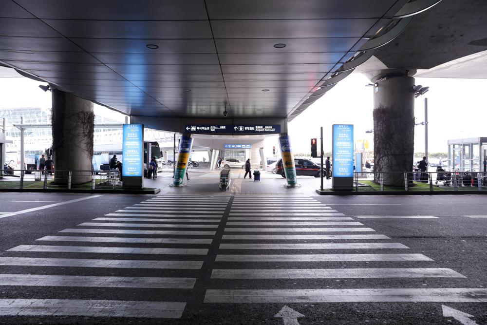 仁川国際空港 ターミナル出口〜AREX駅1