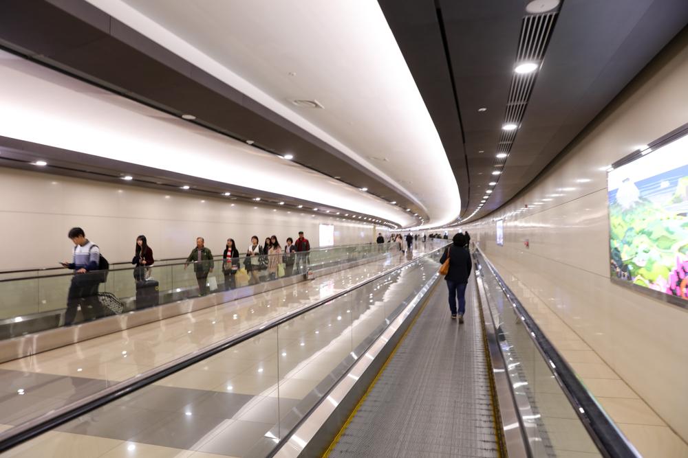 金浦国際空港 AREX駅〜国内線ターミナル1