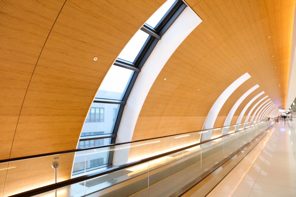 金浦国際空港 廊下