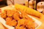 済州島 チキンとポテト