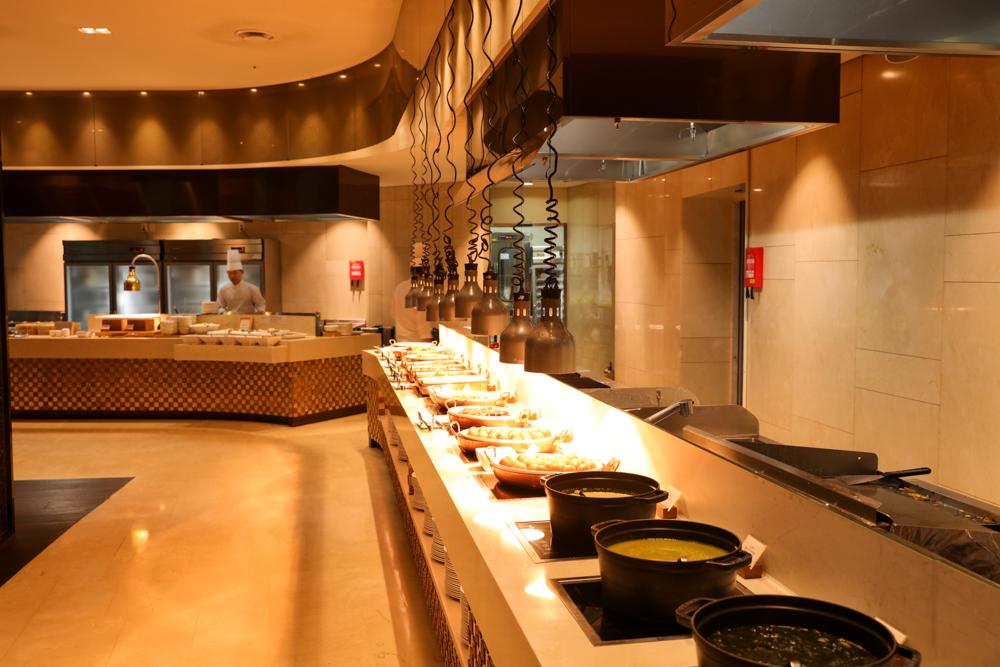 済州島 ロッテシティホテル 朝食ビュッフェ おかず